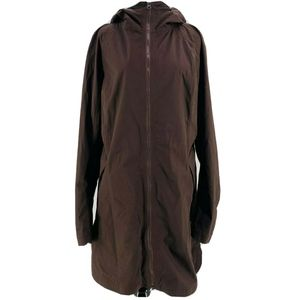 Lululemon Expresso Brown Definitely Raining Jacket